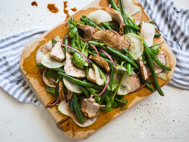 Low-Carb Warm Pork Salad
