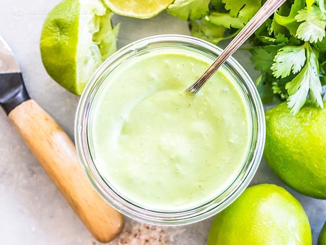 Creamy Cilantro Everything Sauce