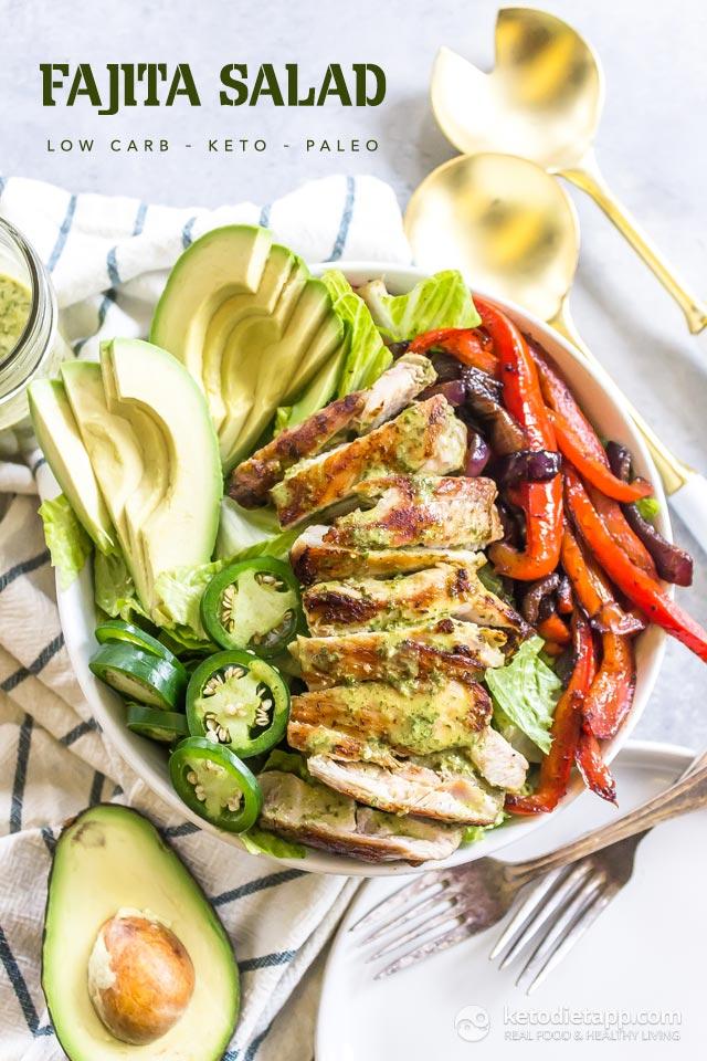 Low-Carb Fajita Salad