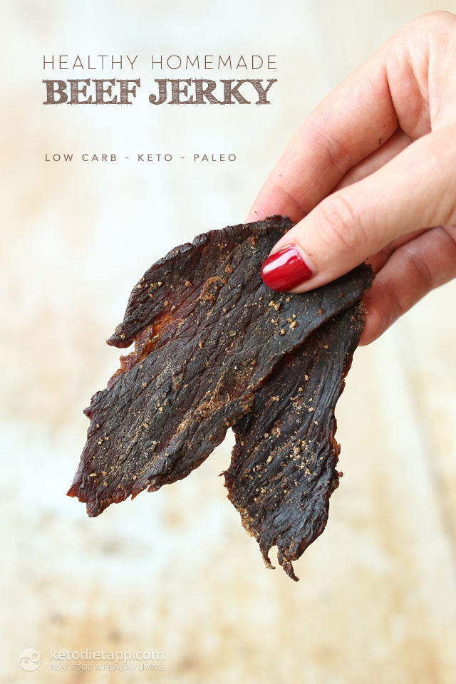 keto diet beef jerky recipe