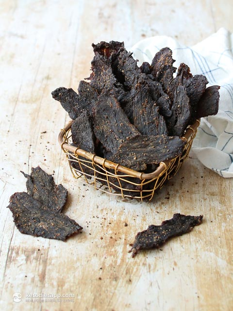The Best Low-Carb Homemade Beef Jerky