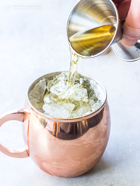 Low-Carb Irish Mule Cocktail
