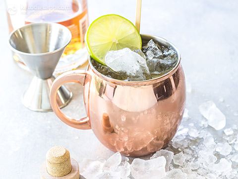 Low-Carb Irish Mule Cocktail