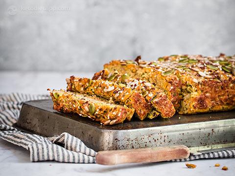 Savory Keto Veggie Loaf