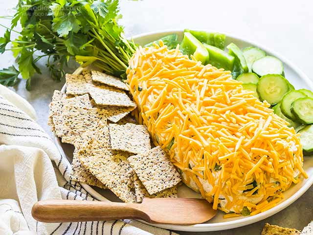 Keto Easter Cheese Ball