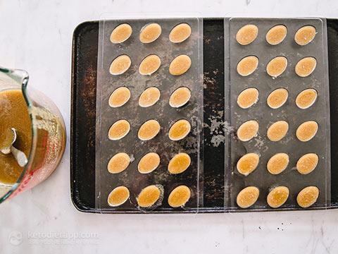 Keto Salted Caramel Easter Eggs