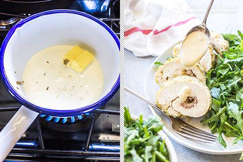 Low-Carb Chicken Cordon Bleu