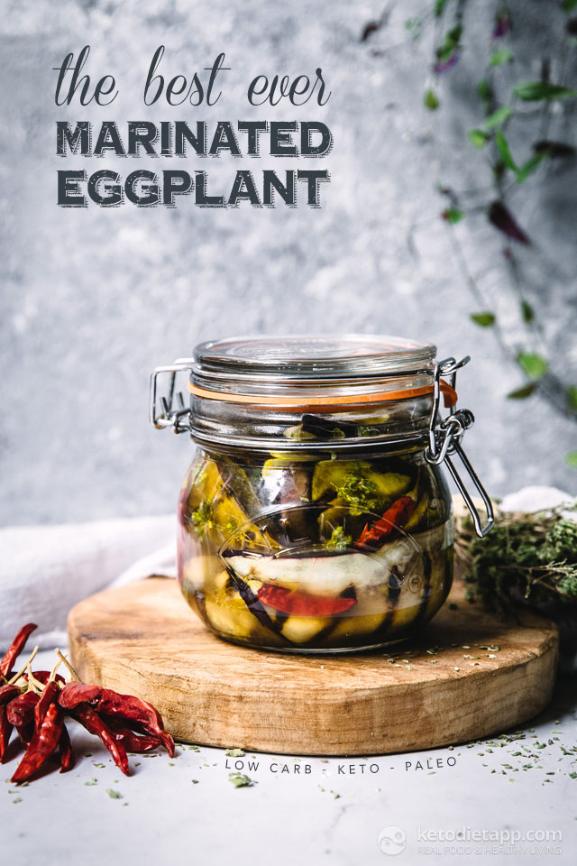 The Best Ever Marinated Eggplant