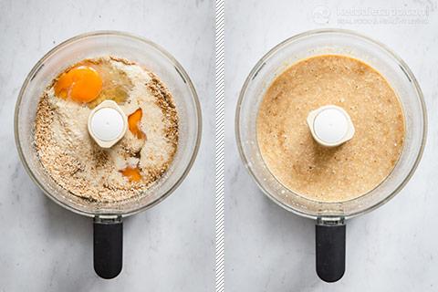 Keto Coconut & Rhubarb Cake