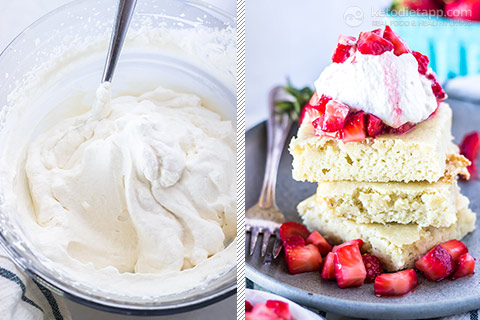 Easy Low-Carb Strawberry Shortcake