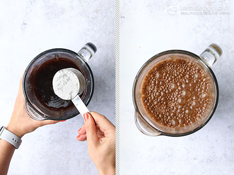 Low-Carb Cold Brew Coffee Granita