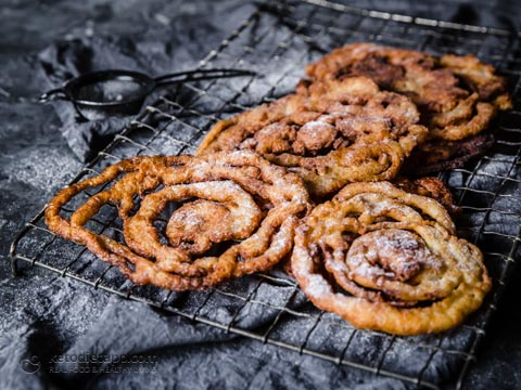 Low-Carb Funnel Cakes