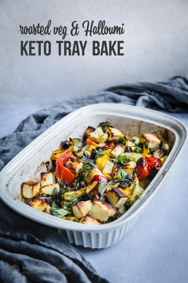 keto mediterranean vegetables salads diet recipe