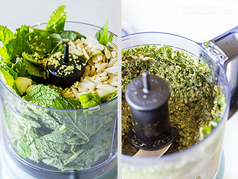 Quick & Easy Homemade Mint Pesto