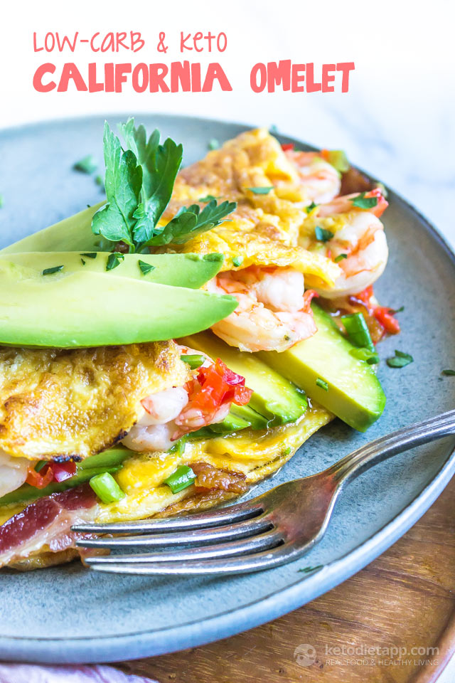 Low-Carb & Keto California Omelet
