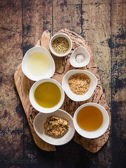 Low-Carb & Keto Honey-Mustard Dressing