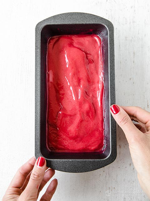 No-Churn Low-Carb Berry Sorbet