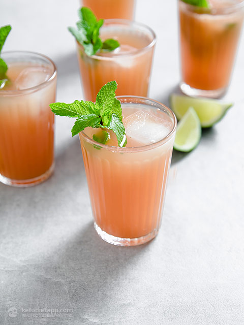 Low-Carb Watermelon & Lime Coolers