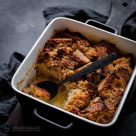 Keto Bread & Butter Pudding