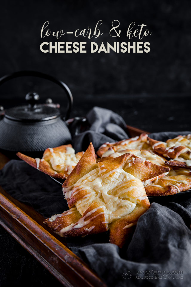 Low-Carb Cheese Danishes