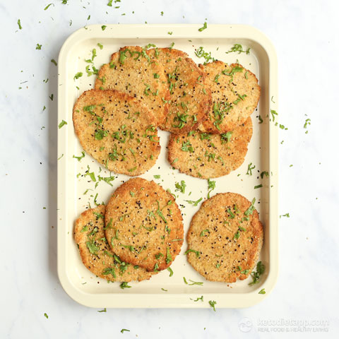 Low-Carb & Keto Naan Bread