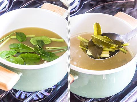 Low-Carb Tom Kha Noodle Bowls