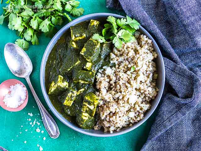Low-Carb Instant Pot Palak Paneer