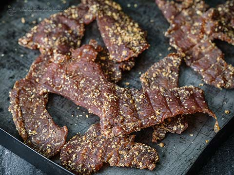Low-Carb Homemade Turkey Jerky