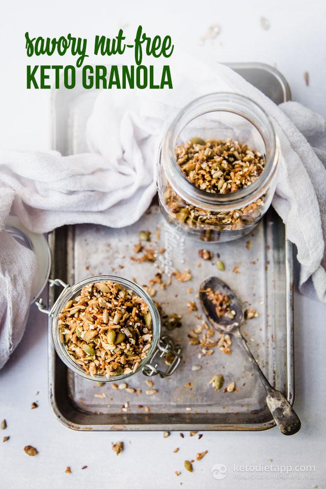 Keto Savory Nut-Free Seed Granola