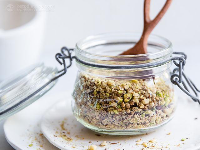 Homemade Roasted Nut & Seed Dukkah