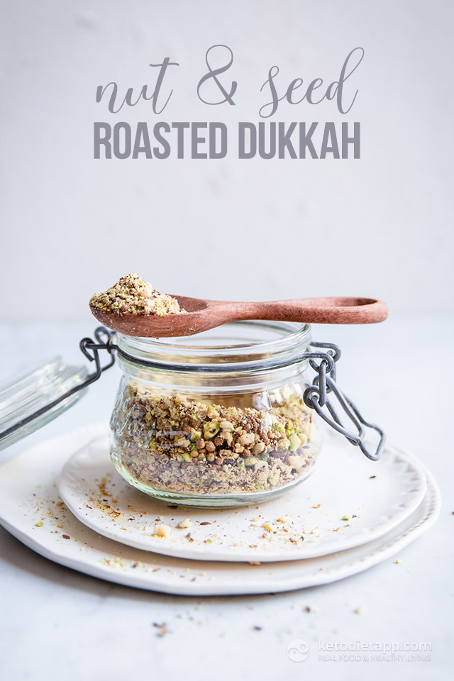 Homemade Roasted Nut & Seed Dukkah