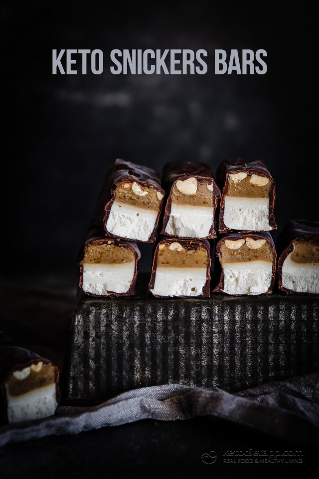 Keto Snickers Bars