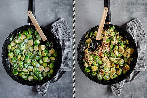 Low-Carb Brussels Sprouts Casserole