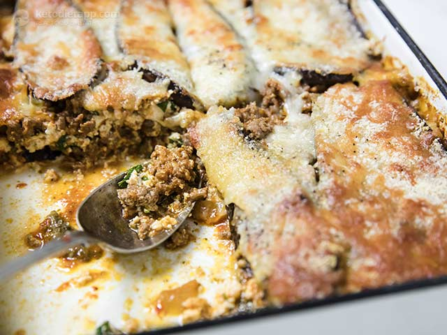 The Best Low-Carb Eggplant Lasagna