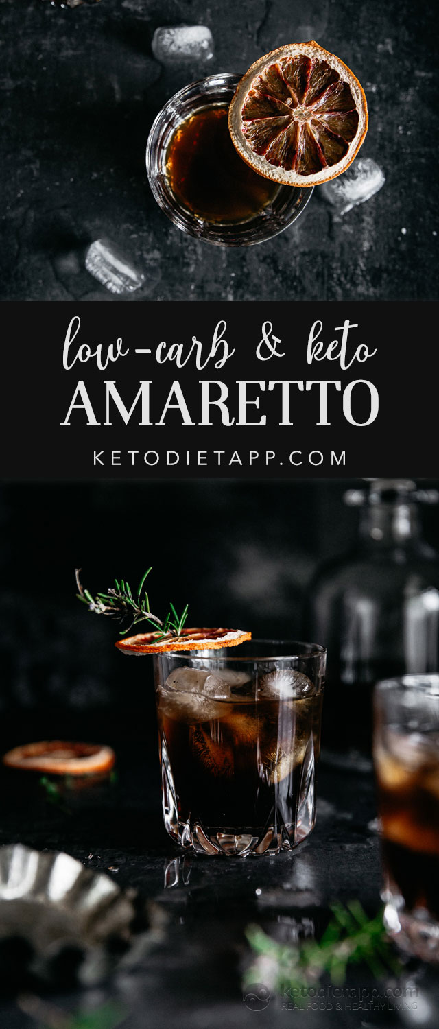 Homemade Low-Carb Amaretto