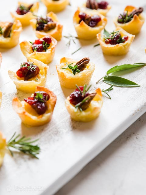 Easy Keto Mini Brie Tarts