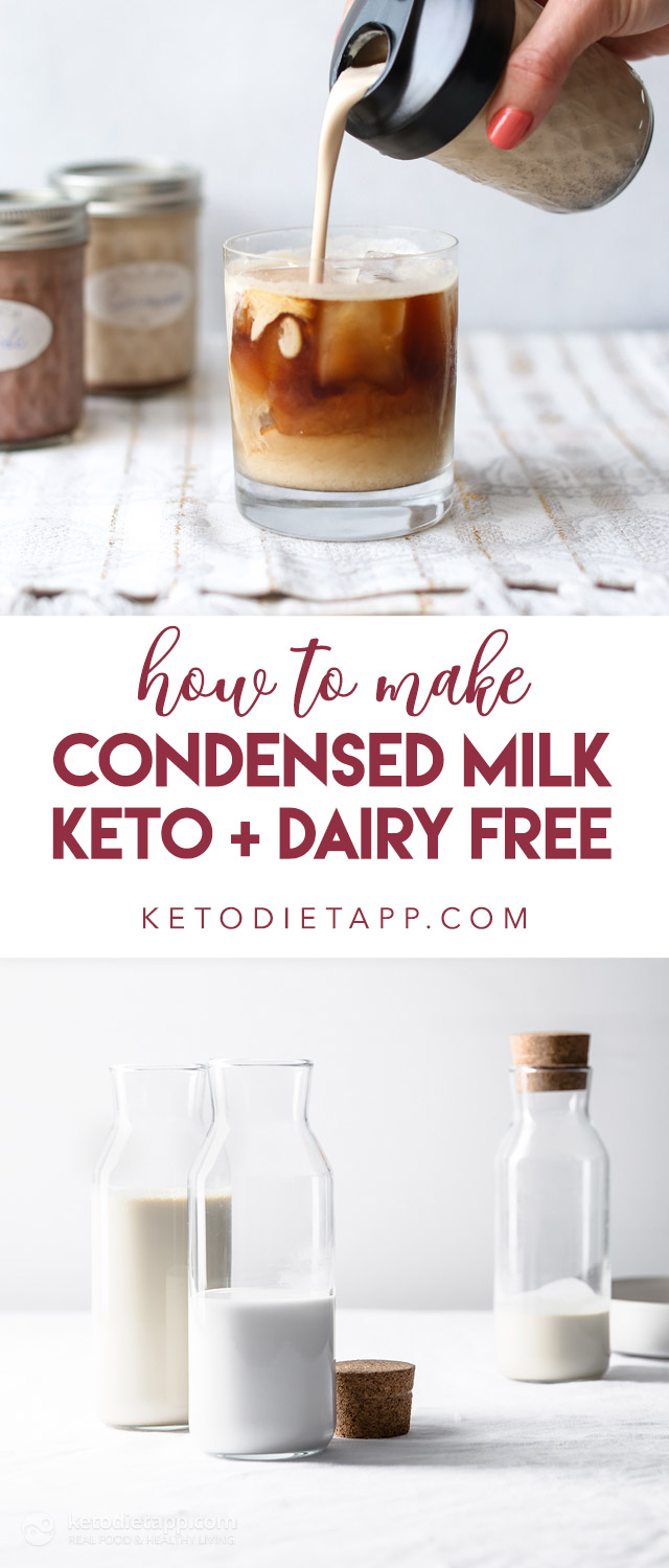 How to Make Keto Condensed Milk