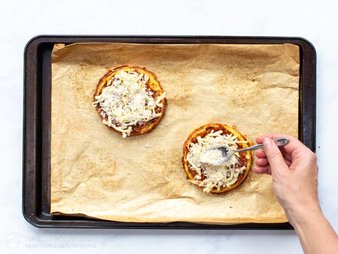 The Best Ever Keto Pepperoni Pizza Chaffles