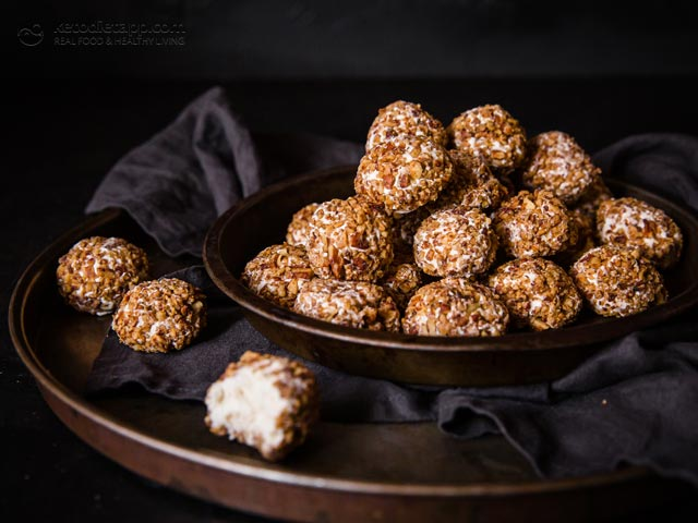 Keto Sweet Spiced Cheese Balls