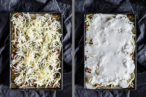 Low-Carb Zucchini Lasagna Roll Ups