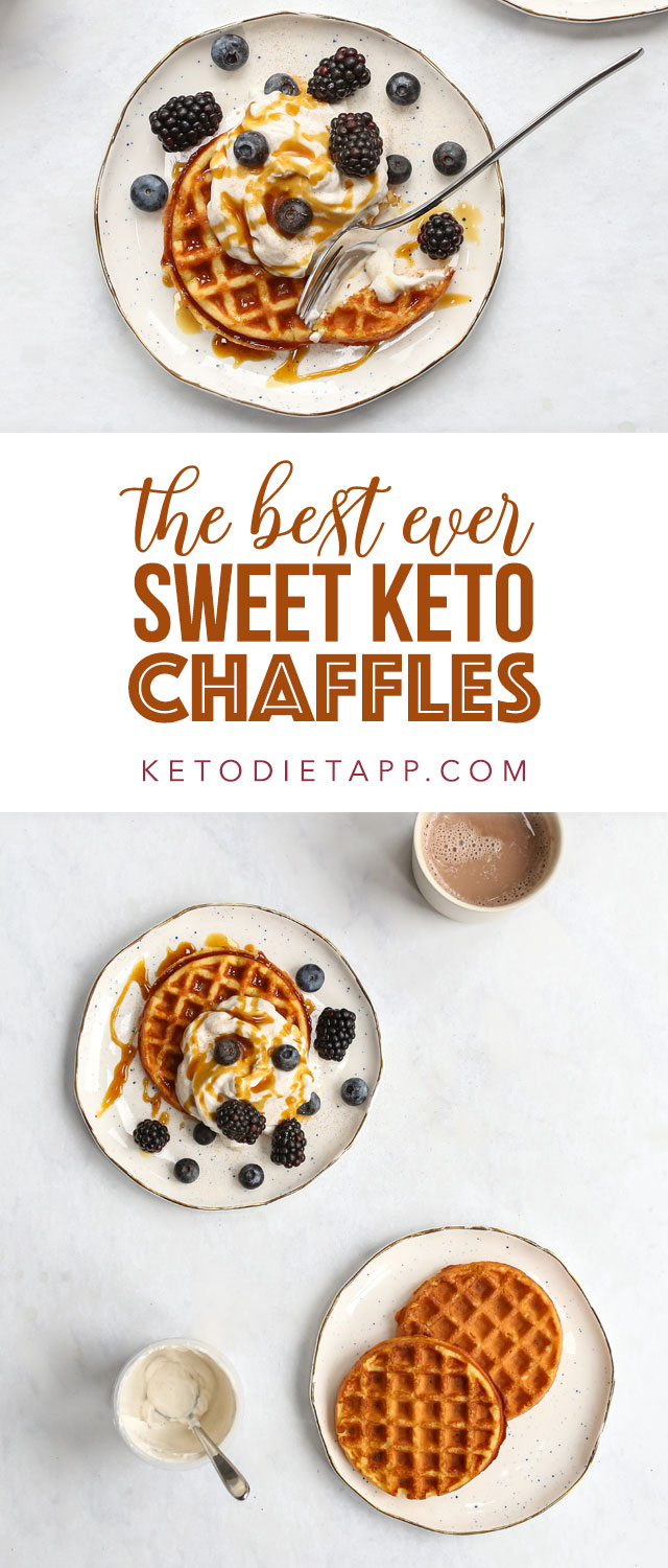 The Best Ever Sweet Keto Chaffles