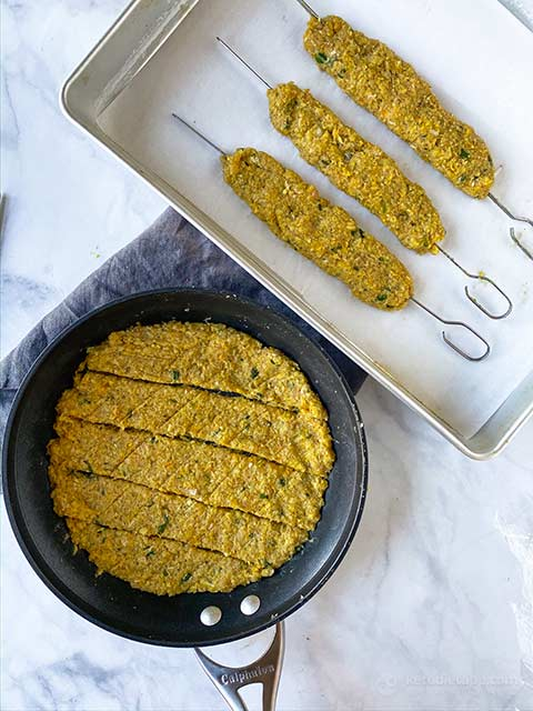 Low-Carb Chicken Seekh Kebabs