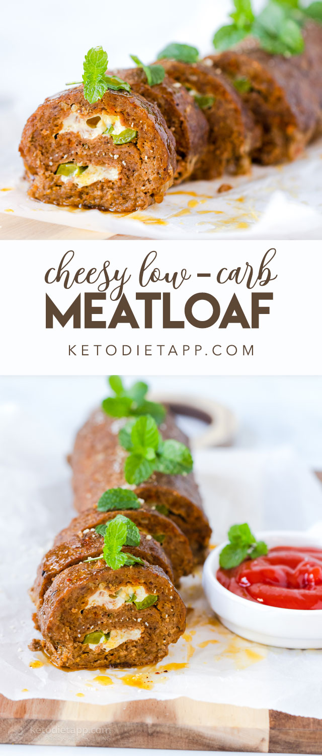 Cheesy Low-Carb Meatloaf