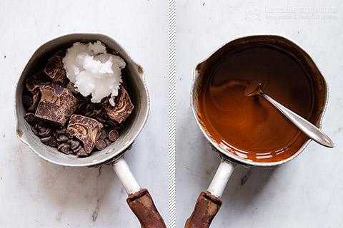 No-Bake Keto Coconut Chocolate Bounty Slice