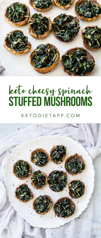 Low-Carb Cheesy Stuffed Mushrooms
