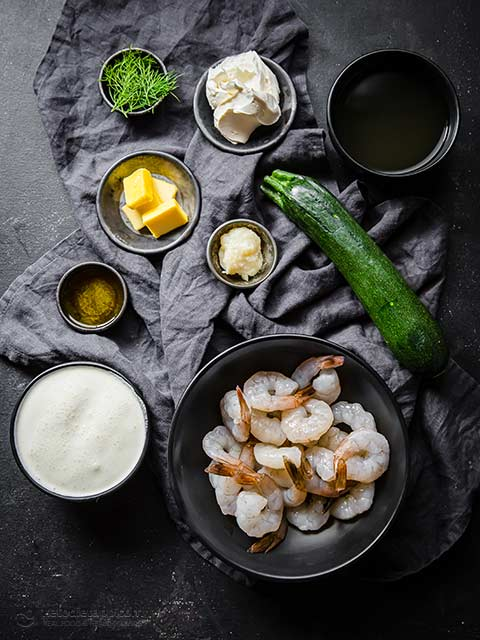 Creamy Keto Garlic Shrimp For Two