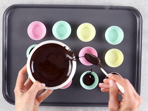 Keto Mocha Cream Chocolate Cups
