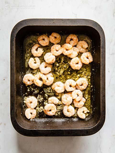 Mediterranean Oven Roasted Prawns