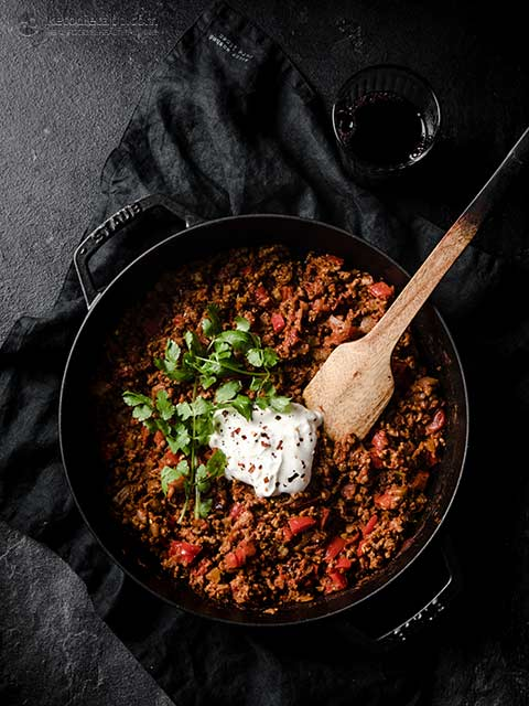 Super Simple Keto Chili