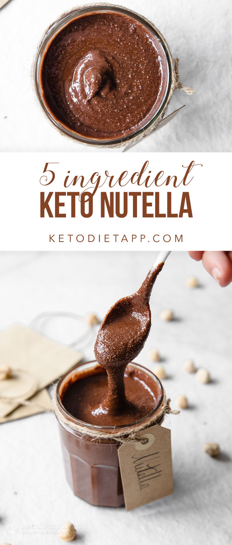 Easy 5-Ingredient Keto Nutella
